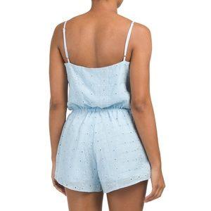 Plum Pretty Sugar Pants - 🚫SOLD🚫 - 🆕 light blue romper - NWOT! 💙